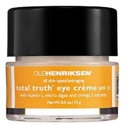 Total Truth Vitamin C Eye Créme SPF 15