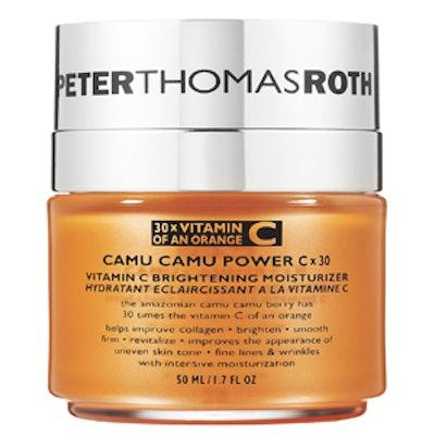 Camu Camu Power C X 30 Vitamin C Brightening Moisturizer