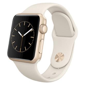 Gold Aluminum Watch