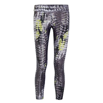 I Am Strong Printed Stretch Jersey Leggings