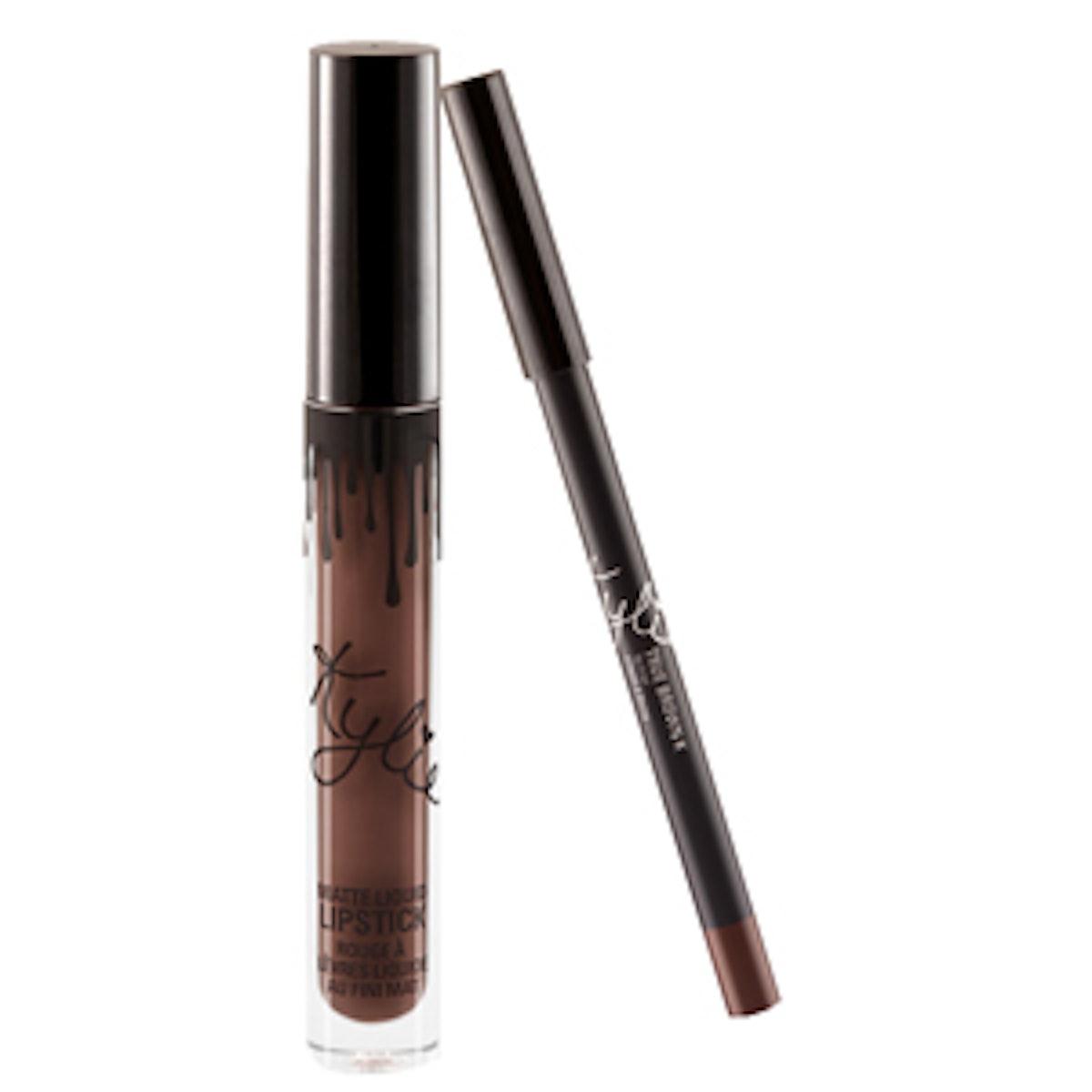 Kylie Jenner Lip Kit In True Brown K