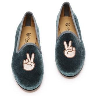 Peace Smoking Slippers