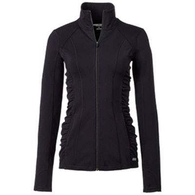 Mesh Inset EXP Core Ruched Side Jacket