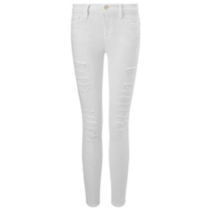 Blanc Le Colour Ripped Jeans