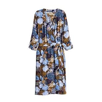 Crêpe Wrap Dress