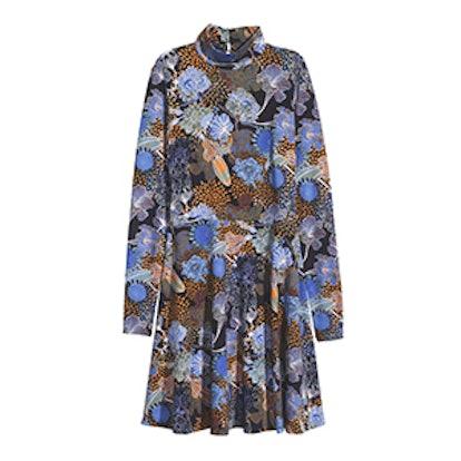 Patterned Jersey Dress