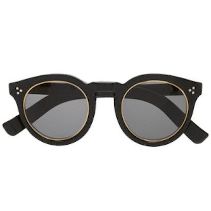 Leonard II Round Frame Sunglasses