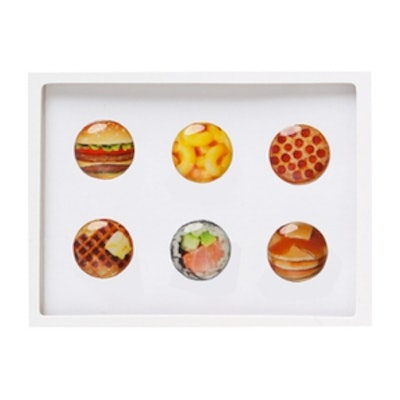 Iphone Comfort Food Home Button Stickers