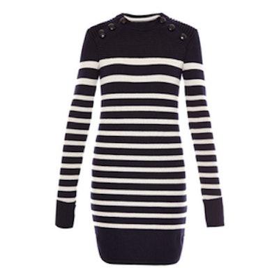 Haeza Striped Mini Dress