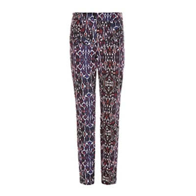 Nella High Waisted Geometric Print Jeans