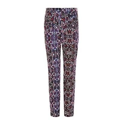 Nella High Waisted Geometric Print Jeans