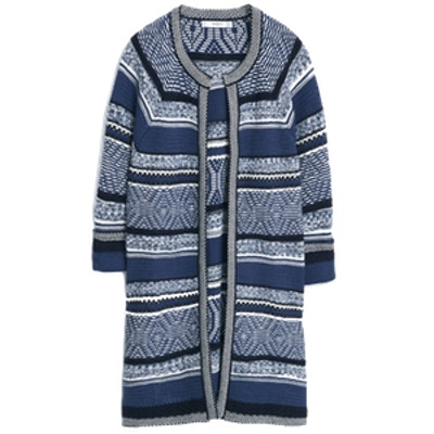 Striped Flecked Sweater