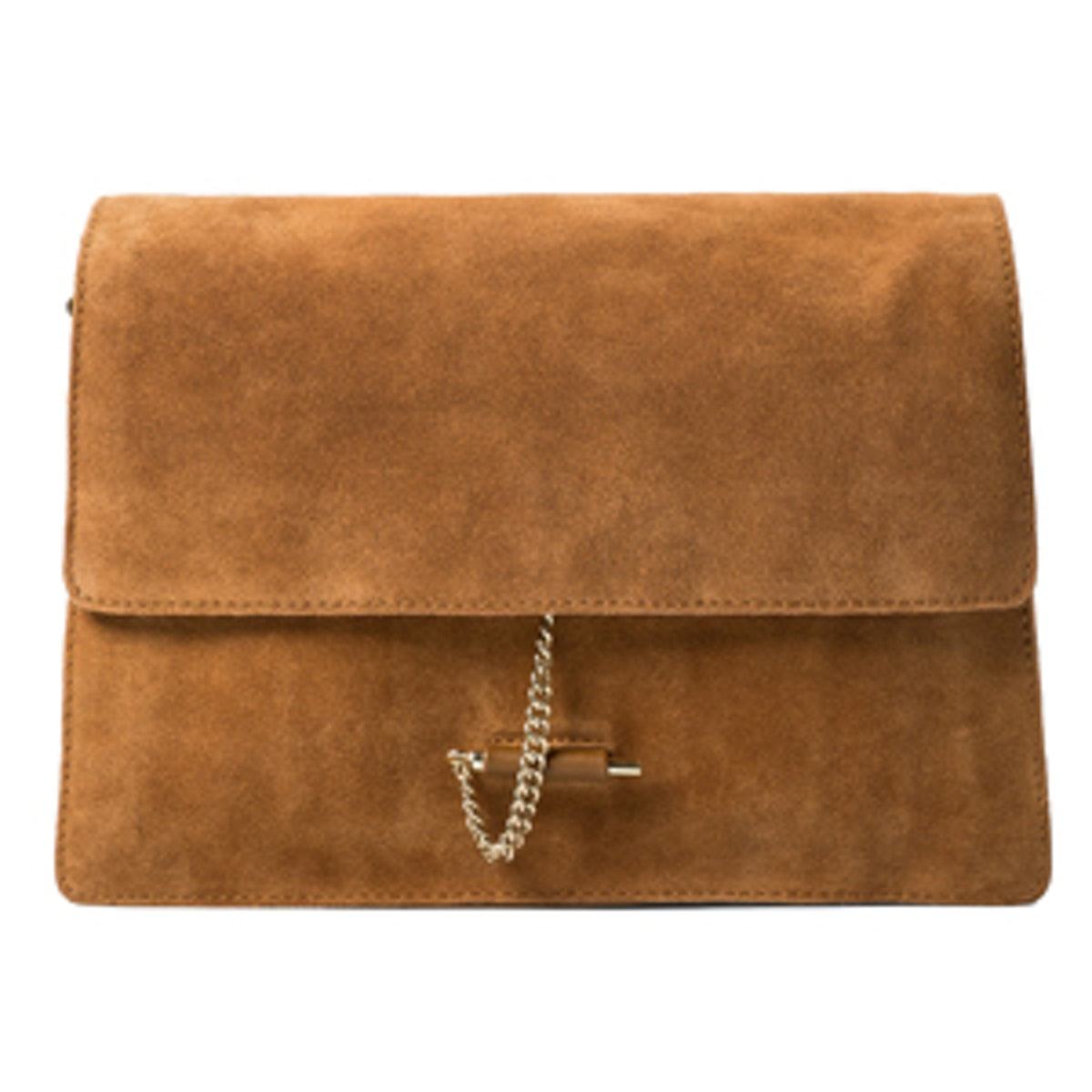 Chain Suede Bag