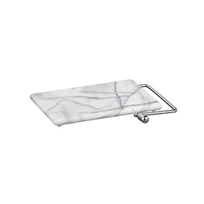 French Kitchen Marble Cheese Board With Slicer