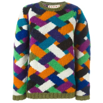 Chevron Pattern Sweater