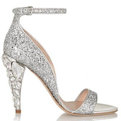 Swarovski Crystal-Embellished Sandals