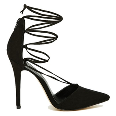 Heeled Ghillie Court Shoe
