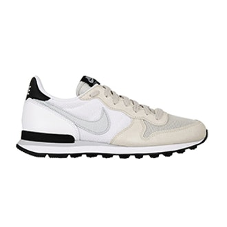 Internationalist Suede Leather and Mesh Sneakers