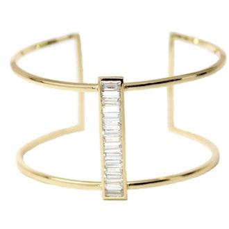Baguette Cuff Bracelet