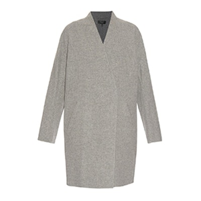 Singer Reversible Wool and Cotton Blend Coat