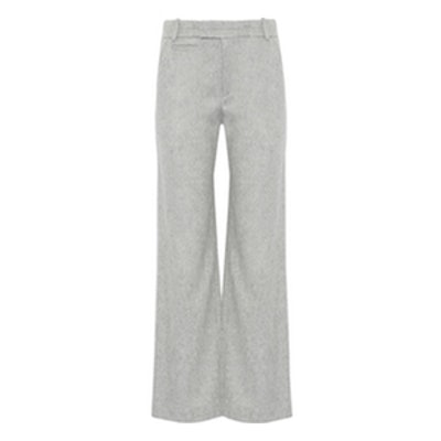 Aggie Brushed Wool Pants