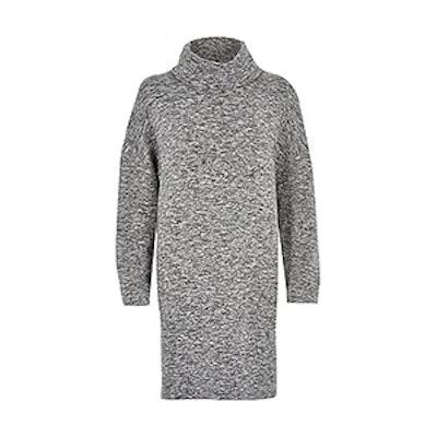 Cowl Neck T-shirt Dress