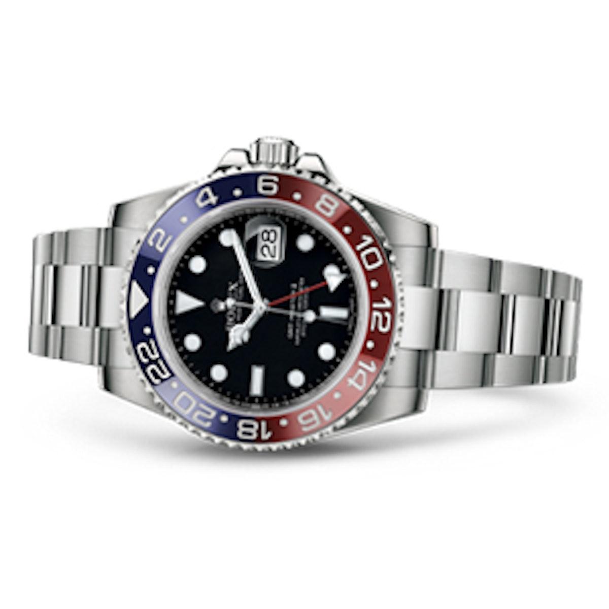 GMT Master II White Gold Watch
