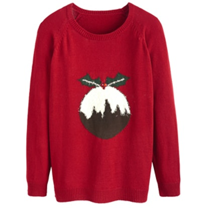 Christmas Pudding Sweater
