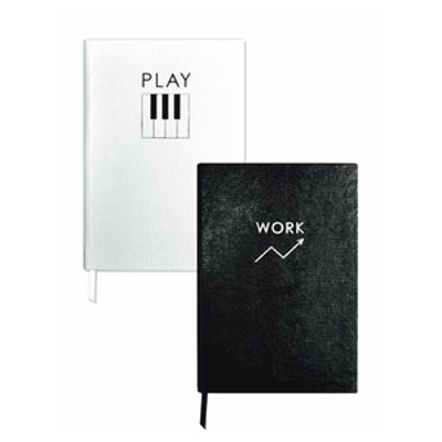 Set of Two Contrast Notebooks