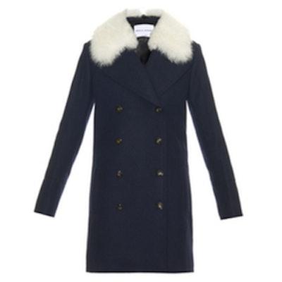 Shearling Collar Coat