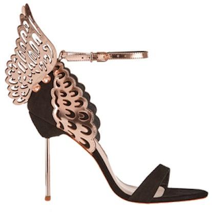 Evangeline Metallic Leather Sandal