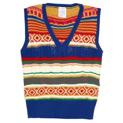 Worcester Multi-Motif Wool Sweater