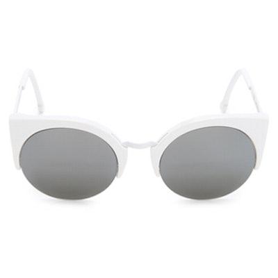 Lucia Francis Metric Sunglasses