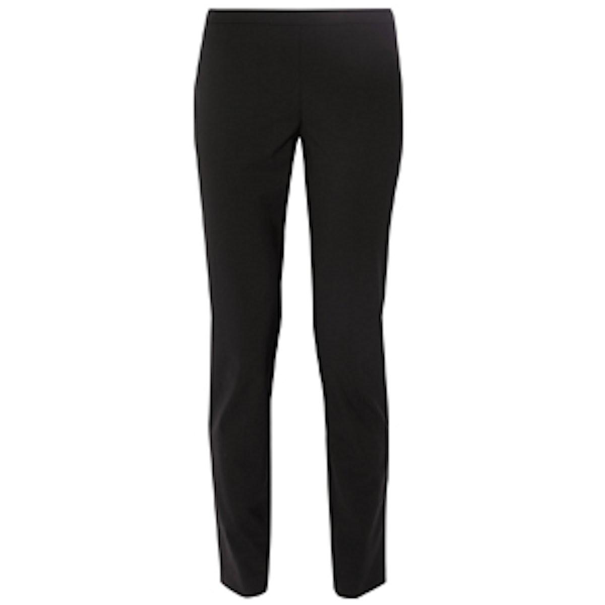 High-Rise Stretch-Wool Skinny Pants