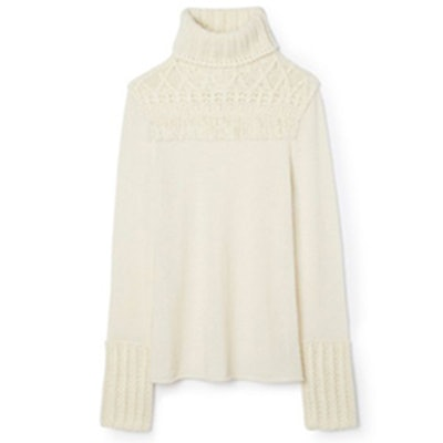 Chunky Turtleneck Pullover