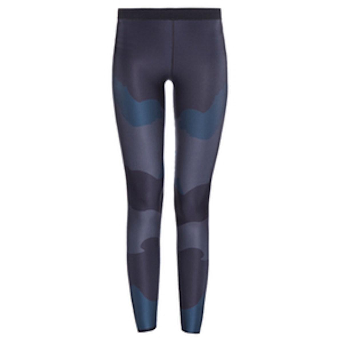 Ultra Silk Camo- Print leggings