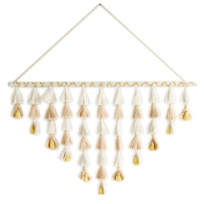 Tassel Bell Branch Wall Hanging