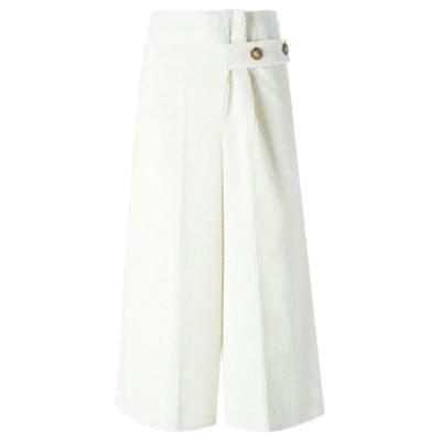 Wide Leg Corduroy Culottes