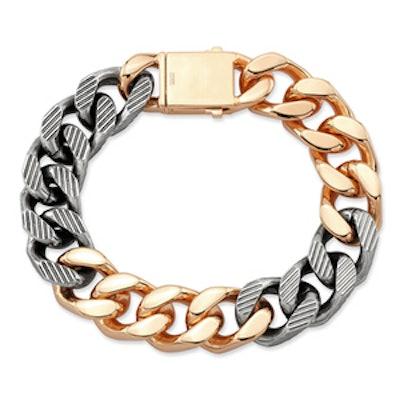 Franco Two Tone Bracelet