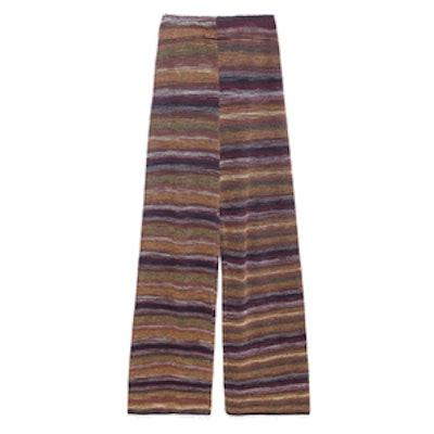 Fancy Striped Knit Trousers