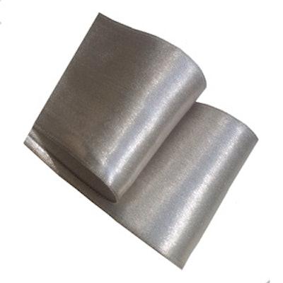 Vintage Silver Lame Ribbon