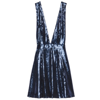 Starry Nights Dress in Navy