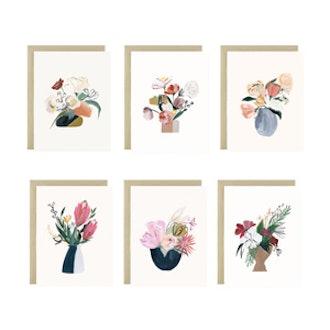 Bouquet Series Assorted Card Set