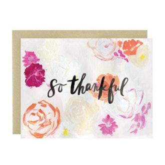 So Thankful Card
