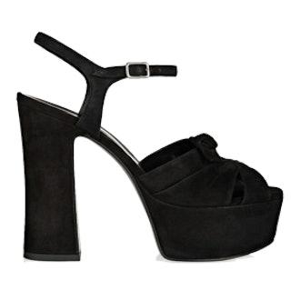 Candy Suede Platform Sandals