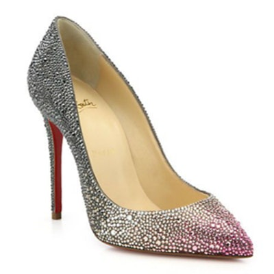 Pigalle Ombre Crystal Pumps