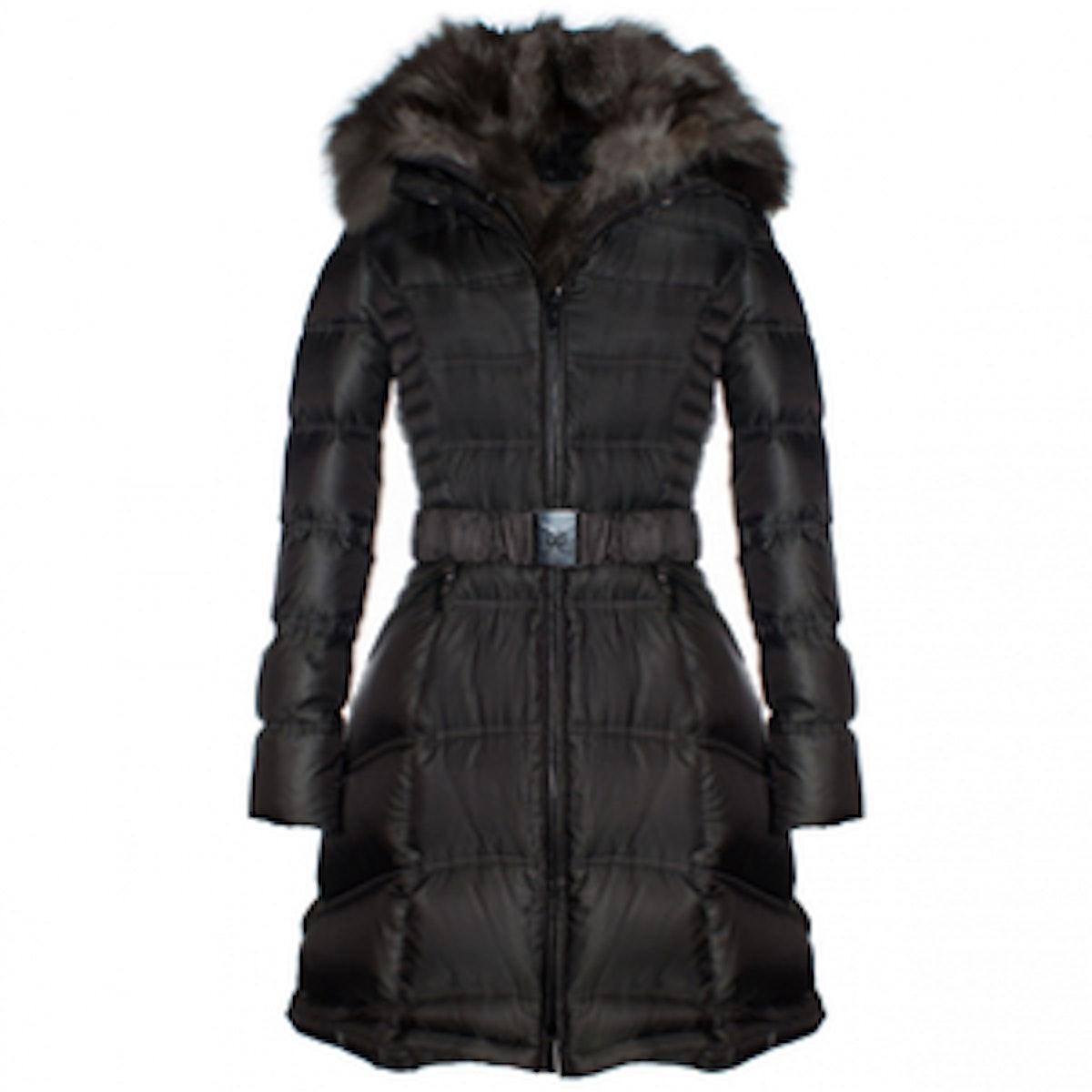 Cat Quilted Coat