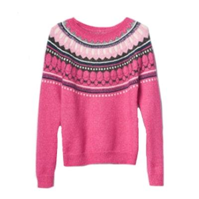Circular Fair Isle Sweater