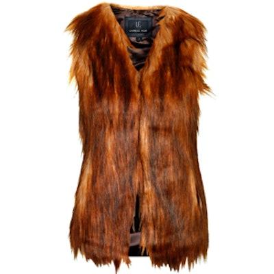 Faux Fur Play Gilet by Unreal Fur