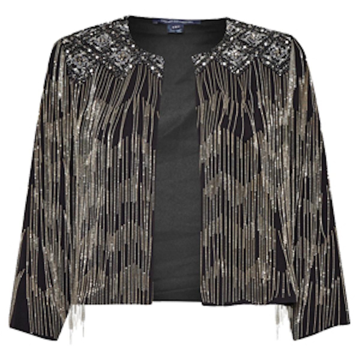 Diamond Fringe Jacket
